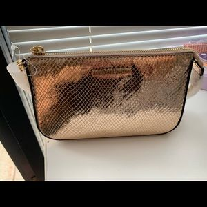 rose gold small purse michael kors